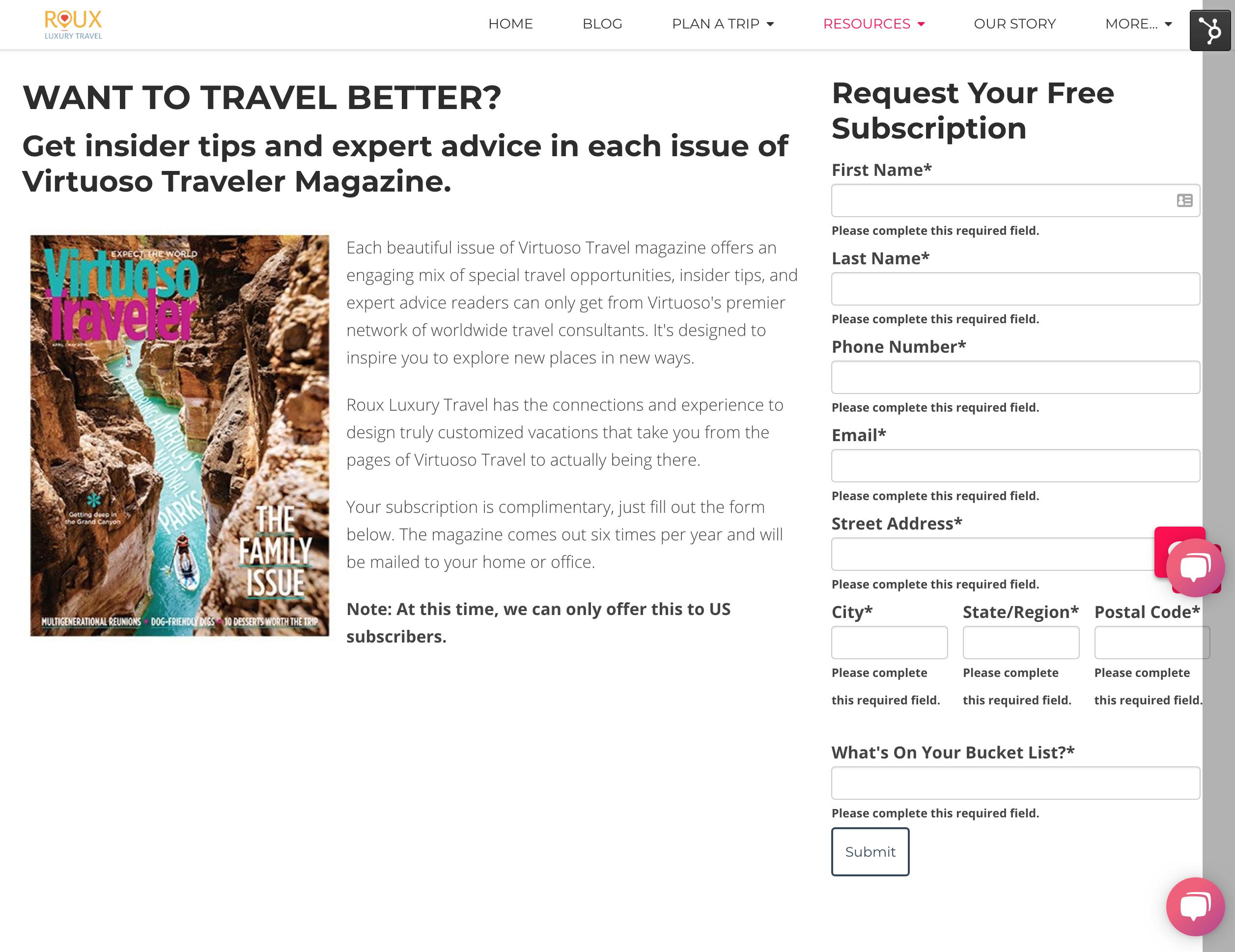 Subscribe to Virtuoso Traveler for Luxury Travel Ideas